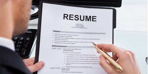 Resume distribution service dubai
